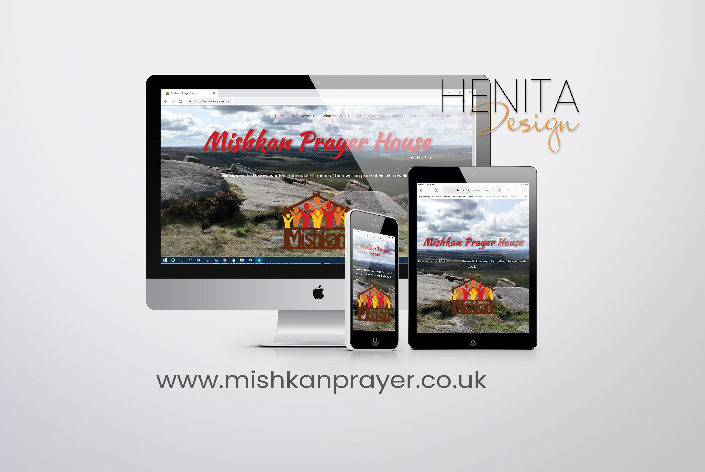 web design mishkan prayer house